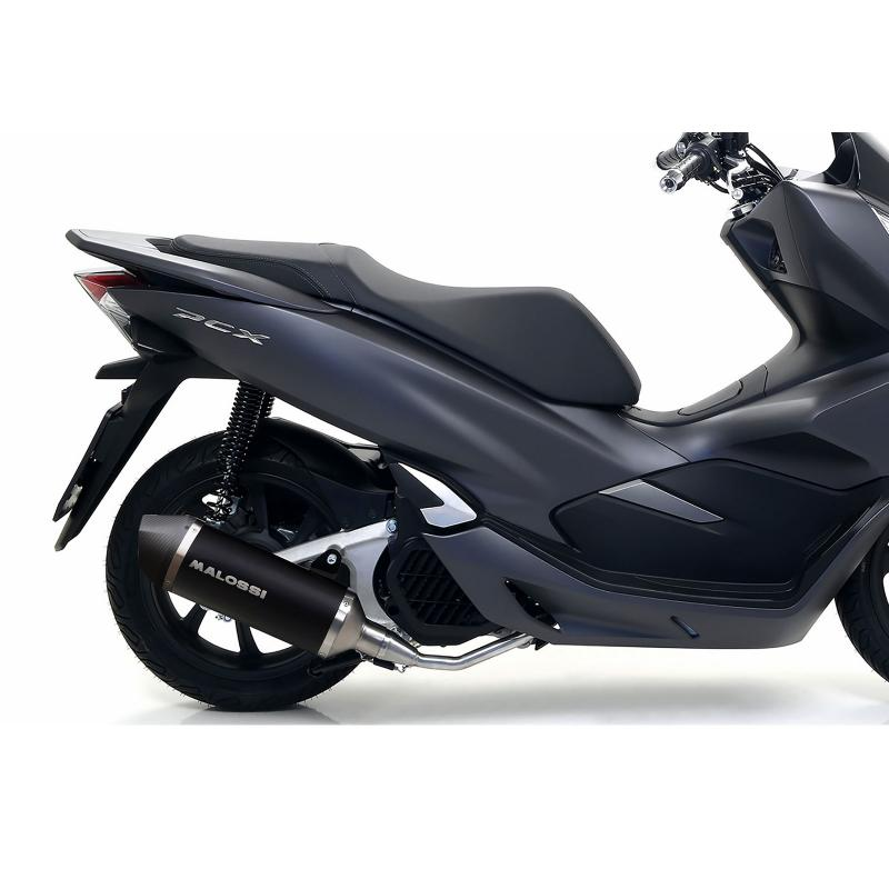 Pot d'échappement Malossi RX Black Honda PCX 125 2018-