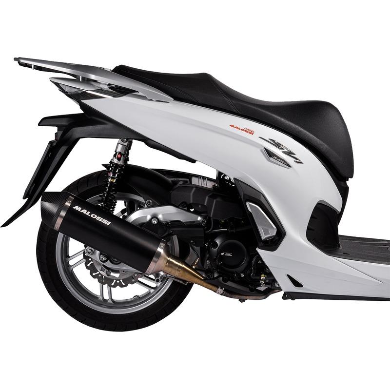 Pot d'échappement Malossi RX Black Honda SHi 350 21-
