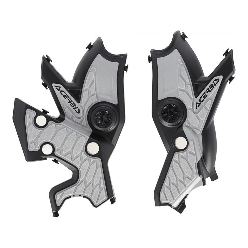 Protection de cadre Acerbis X-Grip Yamaha 700 Ténéré 19-21 noir/argent
