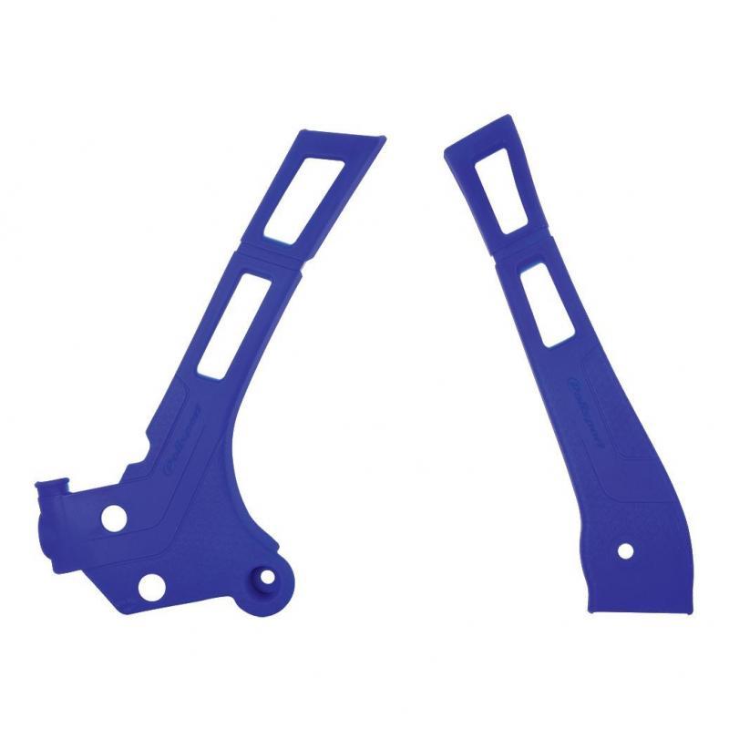 Protection de cadre Polisport Yamaha 125 YZ 06-19 bleu