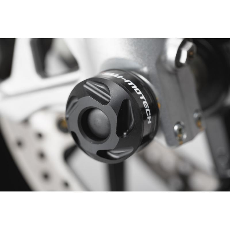 Protection de fourche avant SW-MOTECH noir Versys 1000, ZX-6R 636, Nuda 900