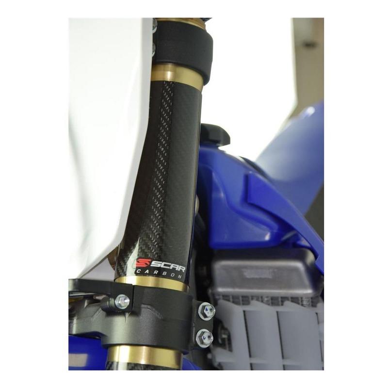 Protection de fourche Scar 160xØ52mm carbone