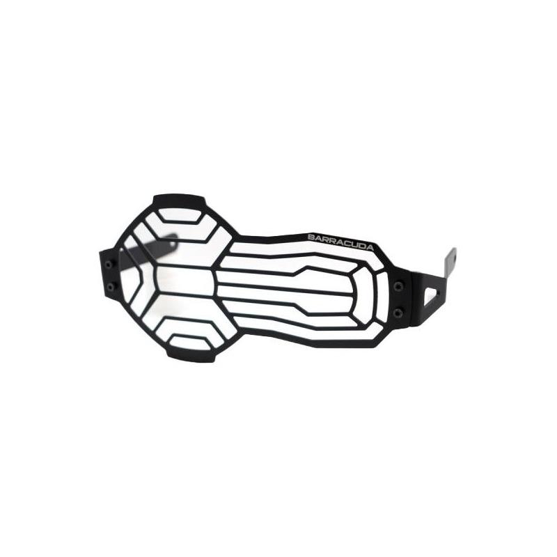 Protection de phare Barracuda aluminium noir BMW R 1250 GS 20-21