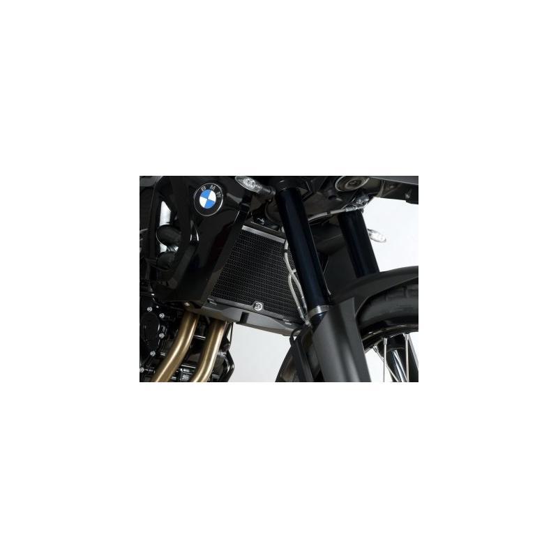Protection de radiateur noire R&G Racing BMW F 800 GS 08-18