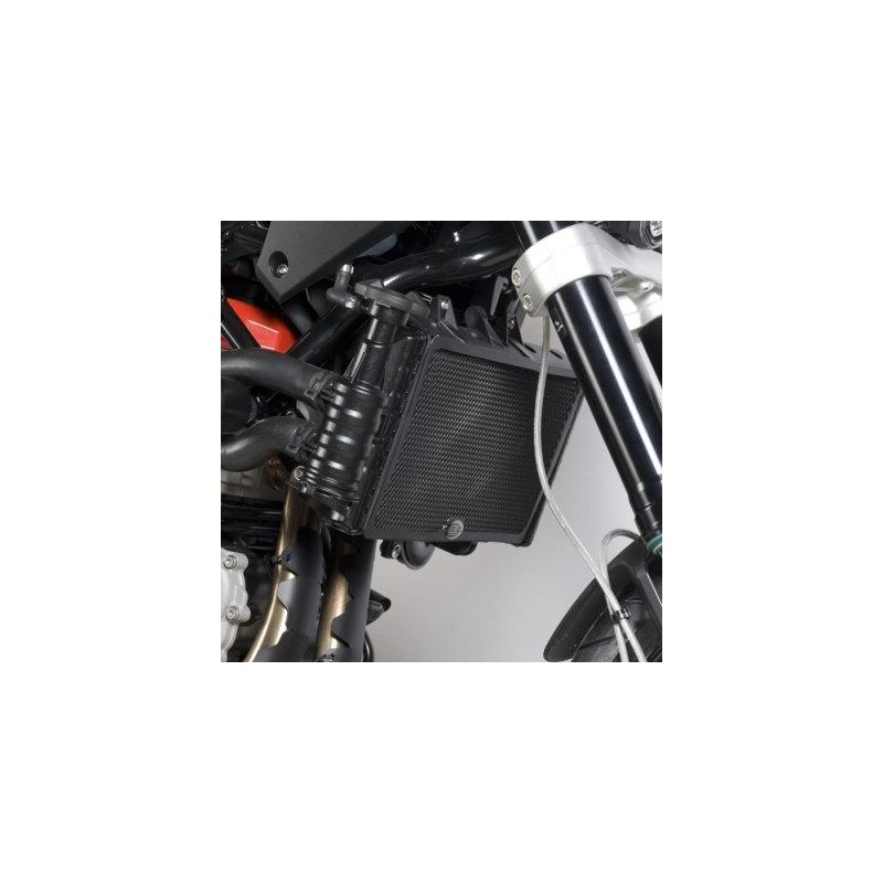 Protection de radiateur noire R&G Racing Husqvarna 900 Nuda 12-13