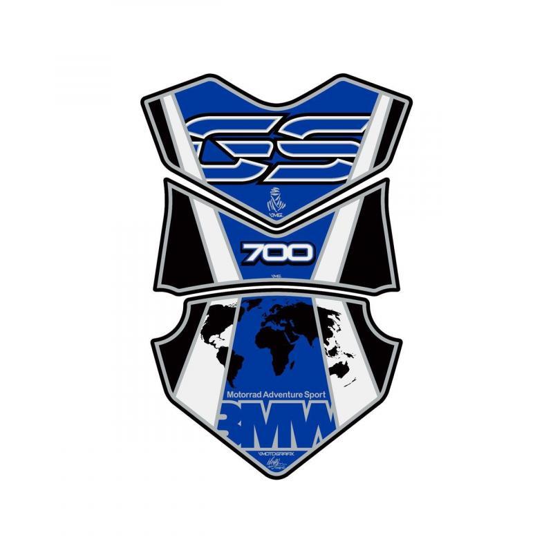 Protection de réservoir Motografix bleu BMW F 700 GS 3 pièces