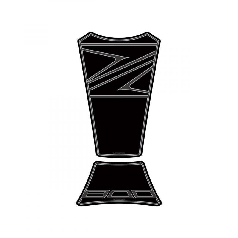 Protection de réservoir Motografix noir Kawasaki Z800 2 pièces