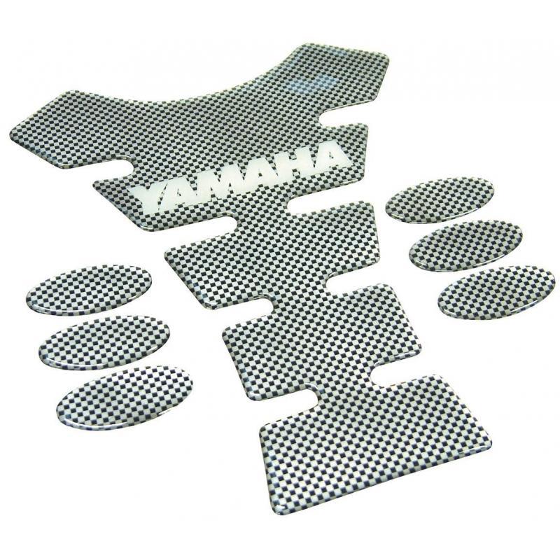 Protection de réservoir Yamaha carbone