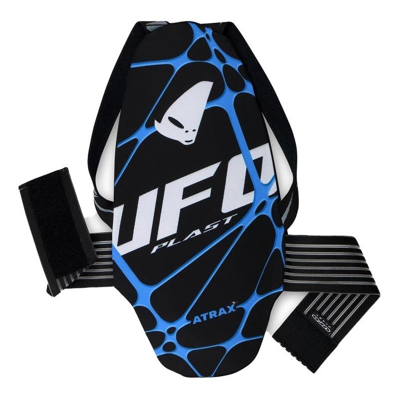 Protection dorsale Ufo Atrax noir/bleu