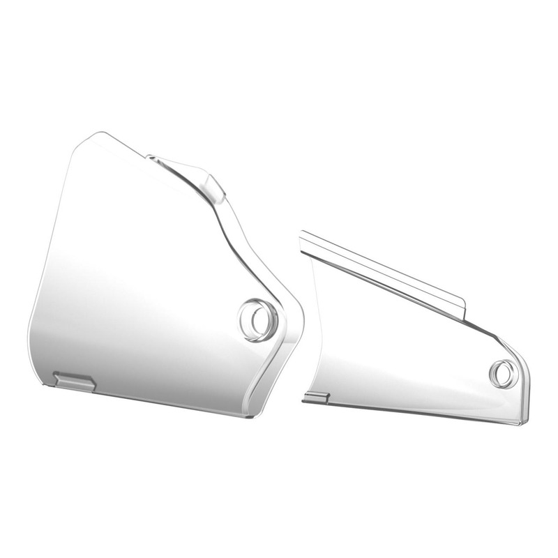 Protections d'ouïes de radiateur Polisport Kawasaki 450 KX 19-21 transparent