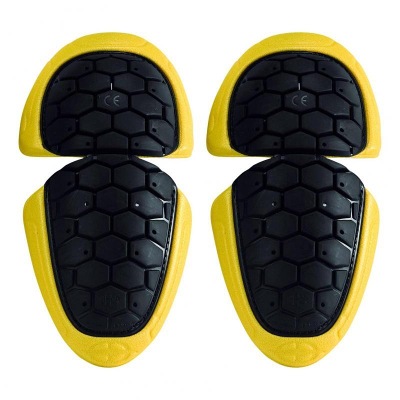 Protections de coudes Acerbis Hexa noir/jaune