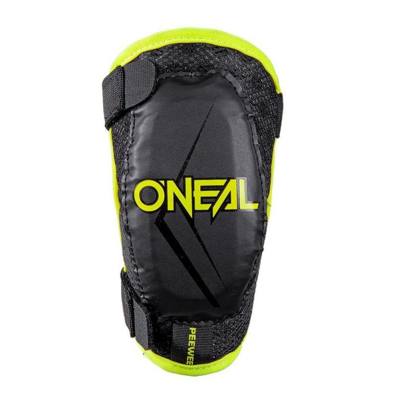 Protections de coudes enfant O'Neal Peewee jaune fluo/noir