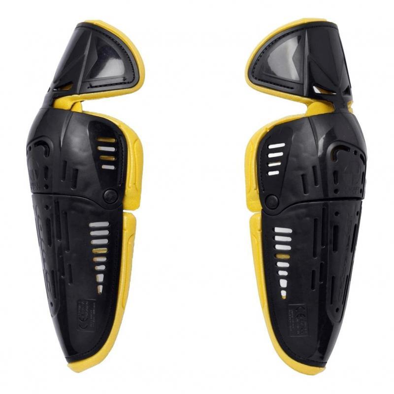 Protections de coudes Spidi BIOMECHANIC ELBOW noir/jaune