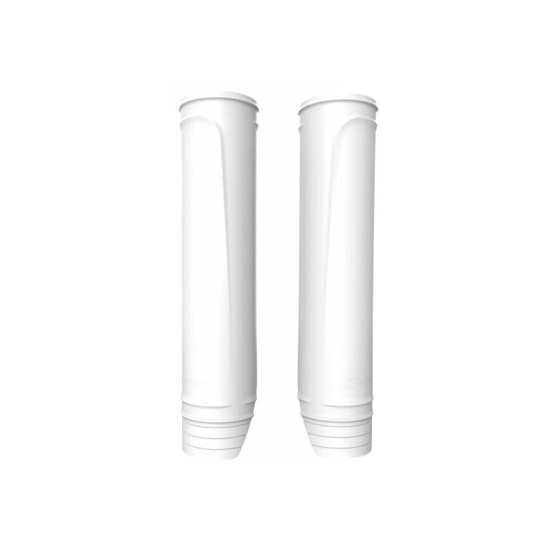 Protections de fourche Polisport blanc (protections fourreaux)
