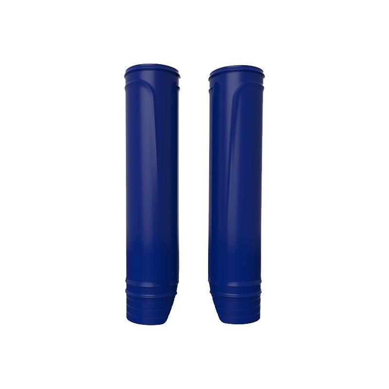 Protections de fourche Polisport bleu (protections fourreaux)