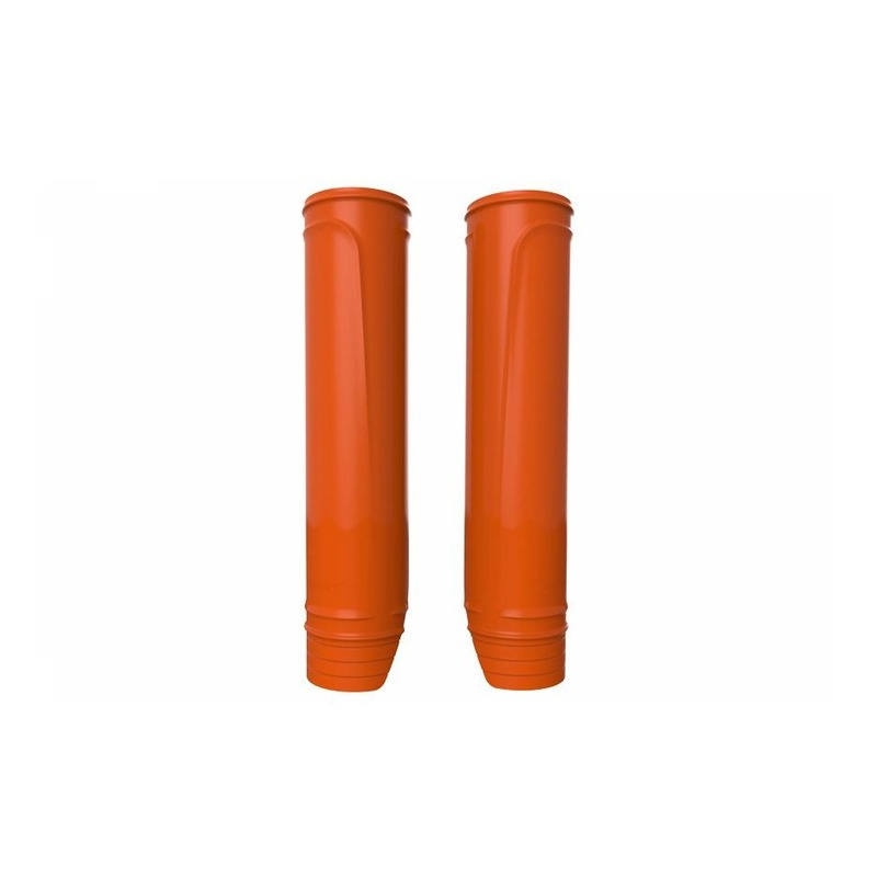 Protections de fourche Polisport orange (protections fourreaux)