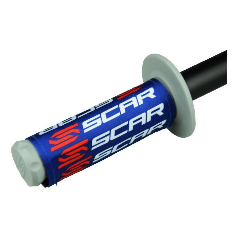 Protections de poignées Scar bleu
