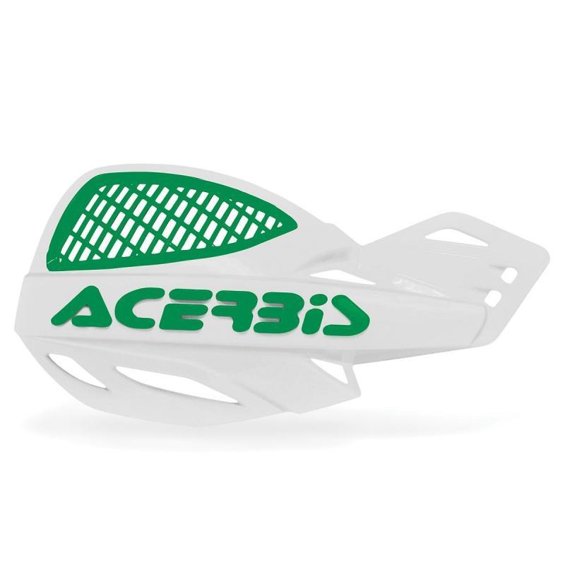 Protège-mains Acerbis UNIKO ventilé blanc/vert (paire)