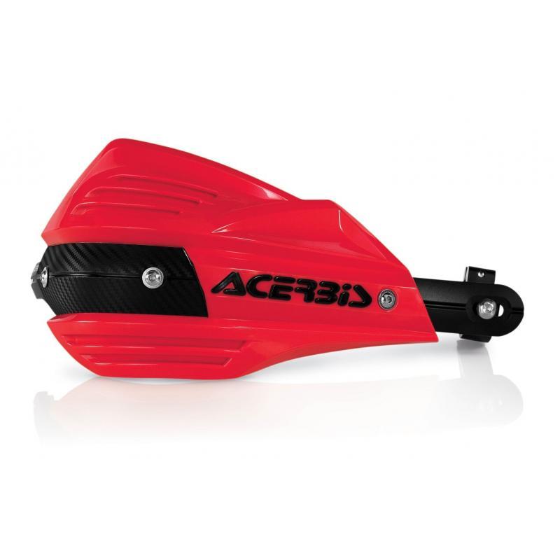 Protège-mains Acerbis X-FACTOR rouge (paire)