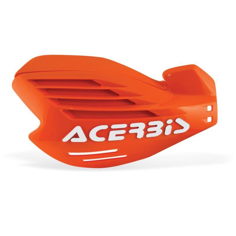 Protège-mains Acerbis X-force orange/blanc (orange16) (paire)