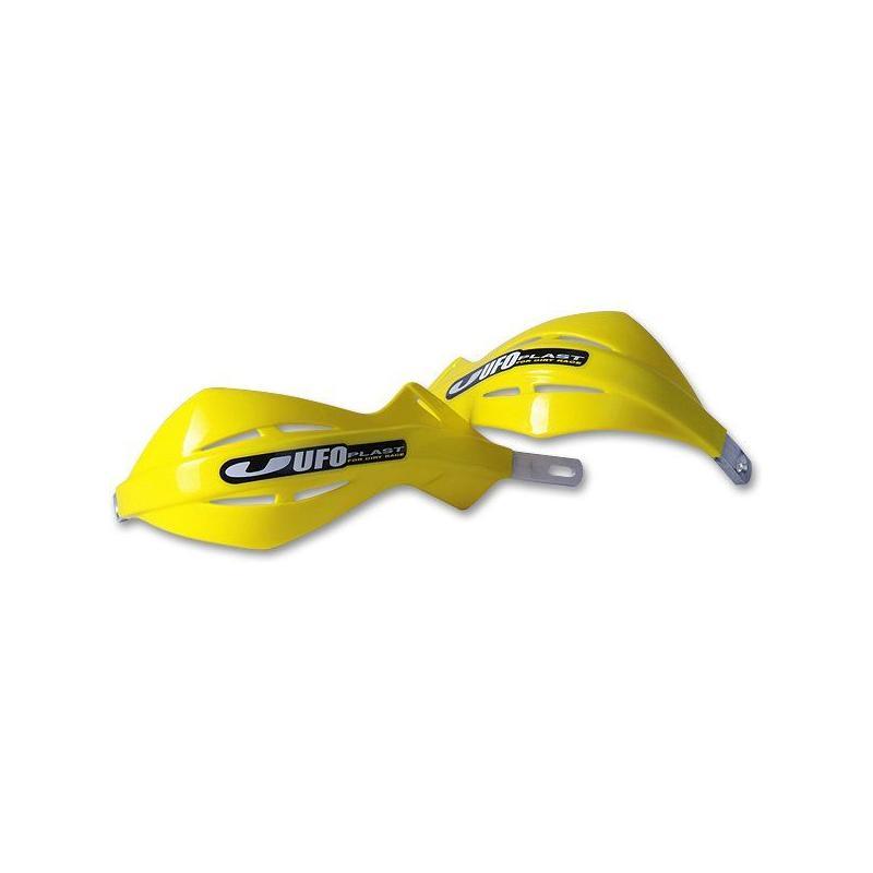 Protège-mains avec renfort en alu UFO jaune (jaune RM 01-14)