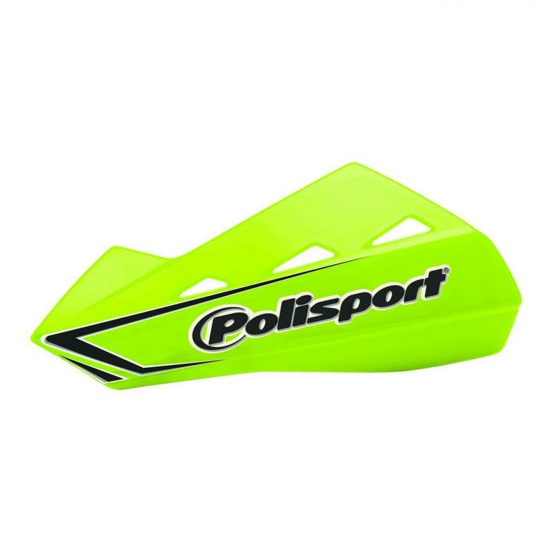 Protège mains Polisport Qwest jaune fluo