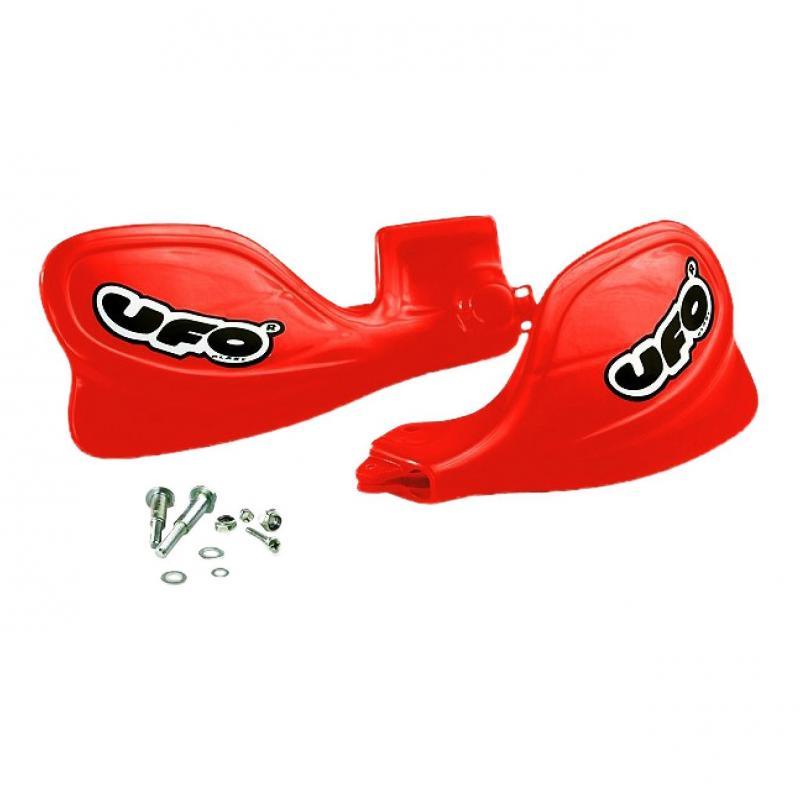 Protège-mains UFO Honda CR 500R 97-01 rouge (rouge CR 00-12)