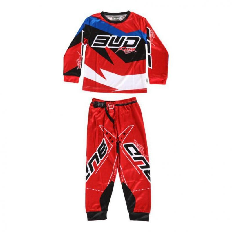 Pyjama 2 pièces Bud Racing 225 rouge