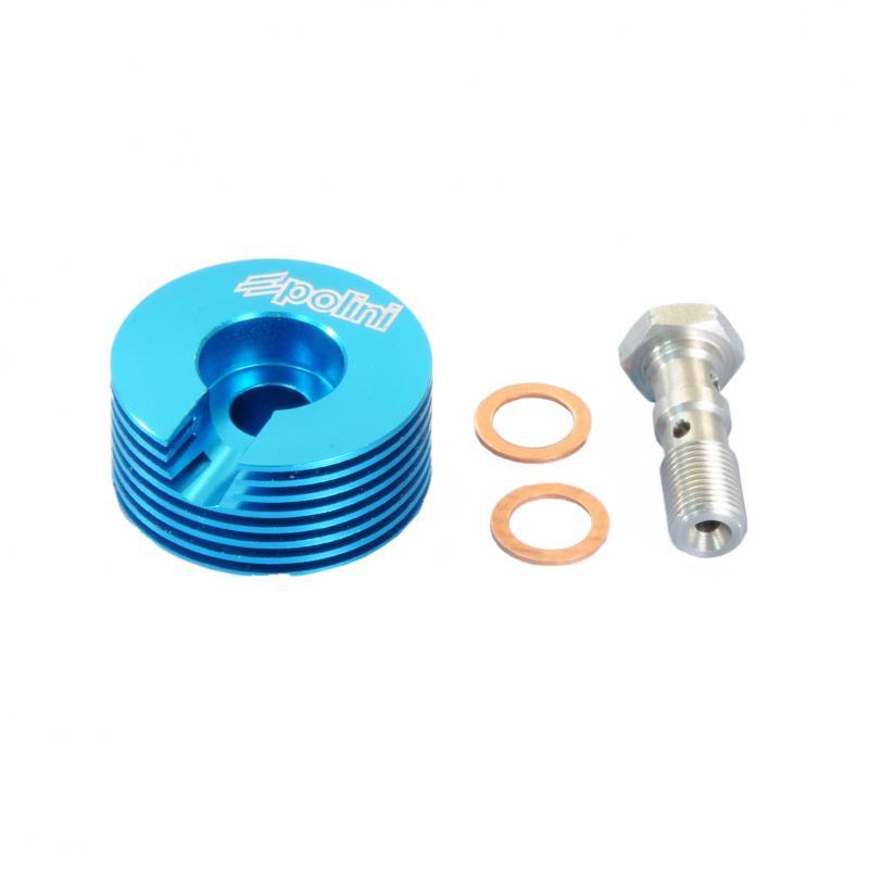 Refroidisseur d'étrier de frein Polini MBK Nitro 04>/ Piaggio Zip 50 /Aprilia SR 50
