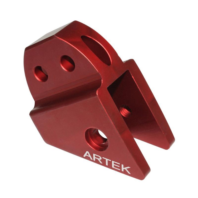 Rehausse amortisseur Artek K1 rouge pour Peugeot Speedfight/trekker