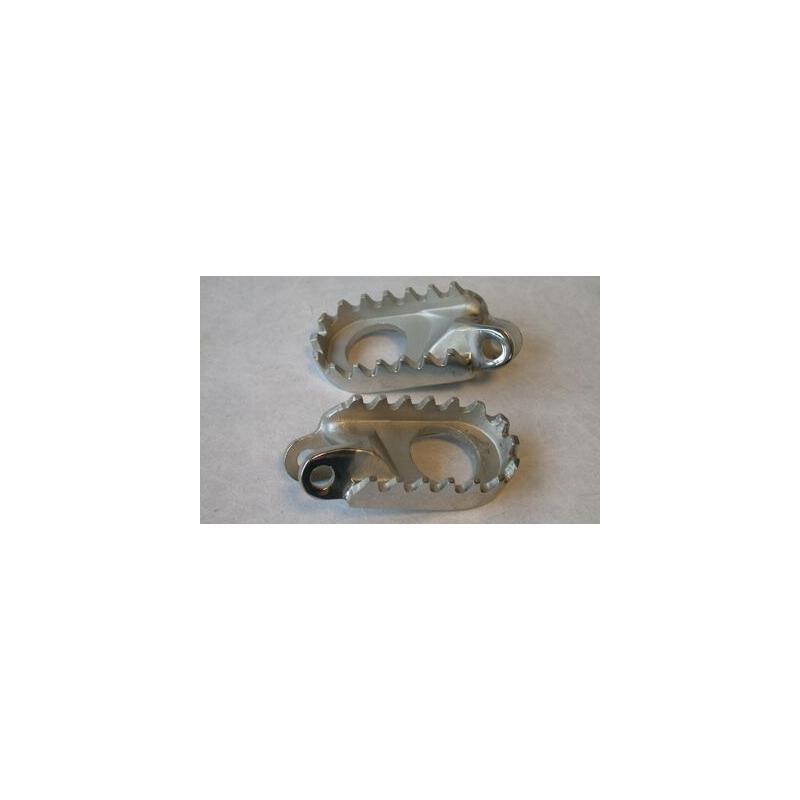 Repose-pieds en inox pour klx250/300/650 et xr250/400 1996-00