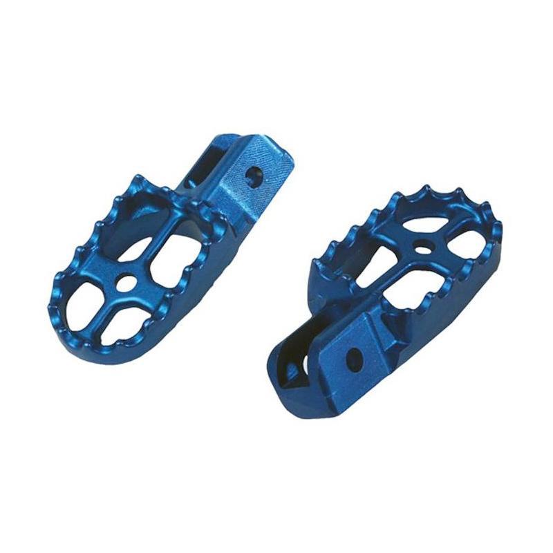 Repose-pieds trial bleu Scorpa/Gasgas