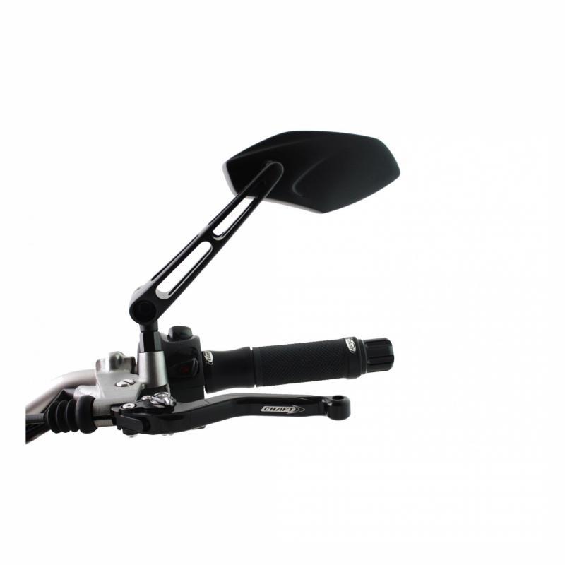 Rétroviseur Chaft gauche Naugty MX noir
