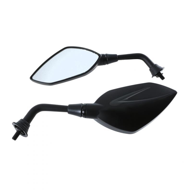 Rétroviseurs Chaft Extra noir/noir brillant M.10 (paire)