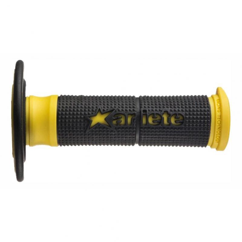 Revêtement de poignées Ariete duality noir/jaune