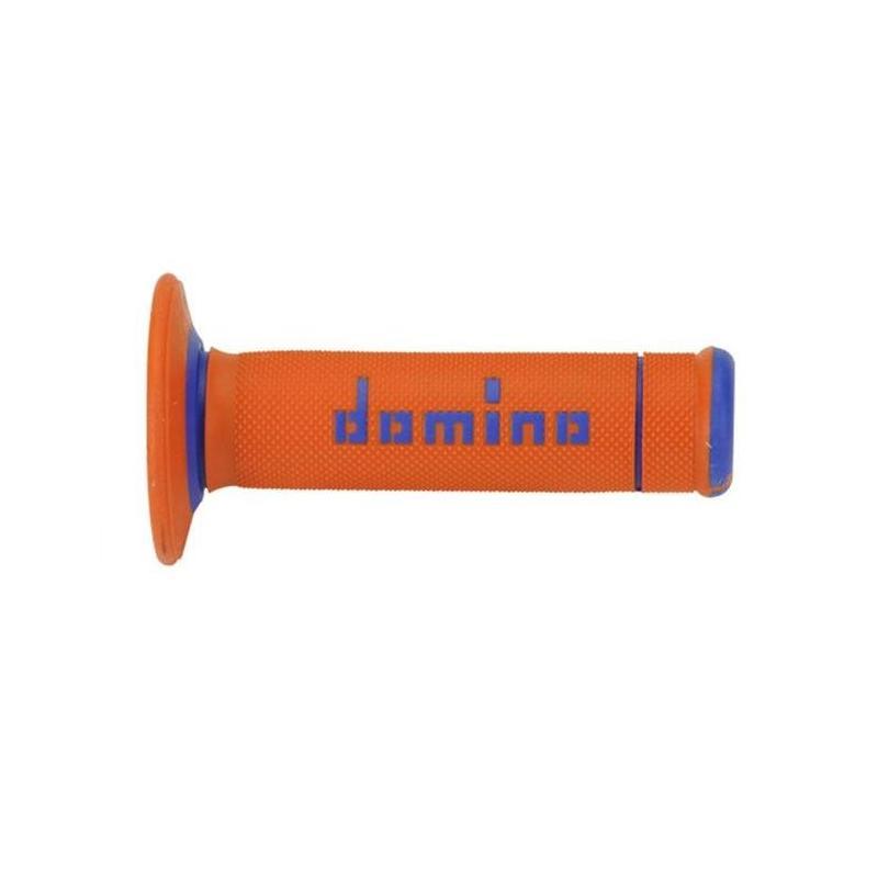 Revêtement Domino non gaufré orange/bleu A190