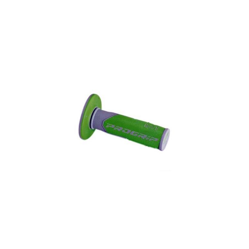 Revêtements de poignée 801 Progrip gris/vert