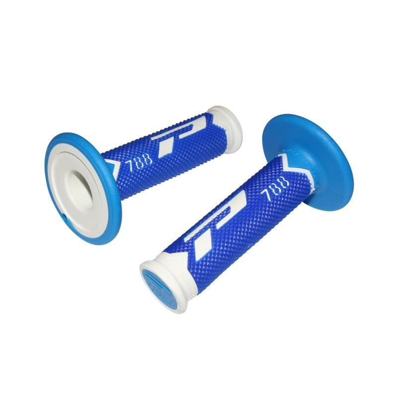 Revêtements de poignée Progrip 788 blanc/bleu/bleu clair