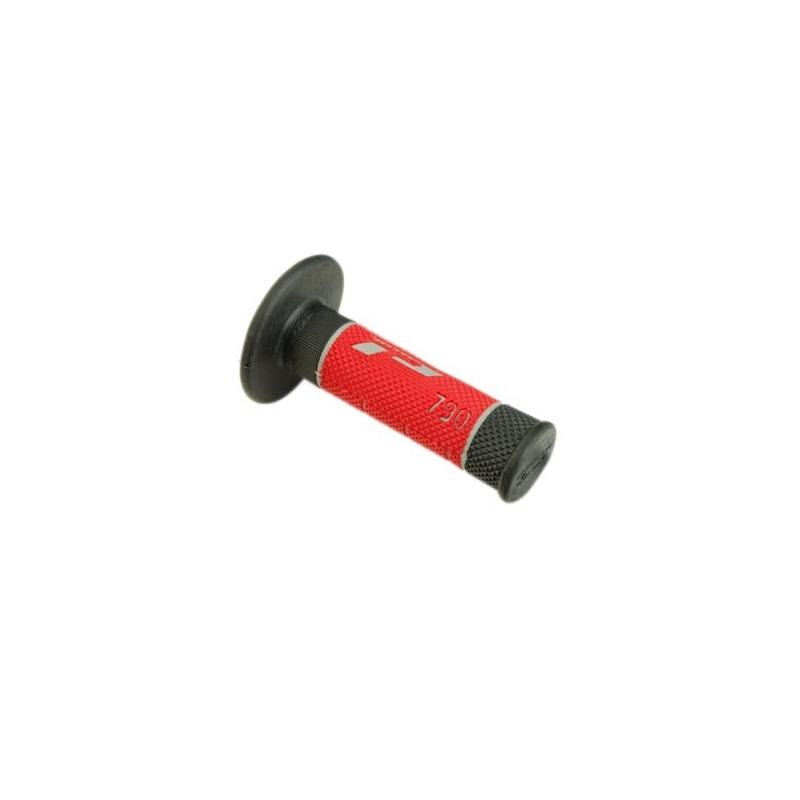 Revêtements de poignées 790 Progrip rouge/noir