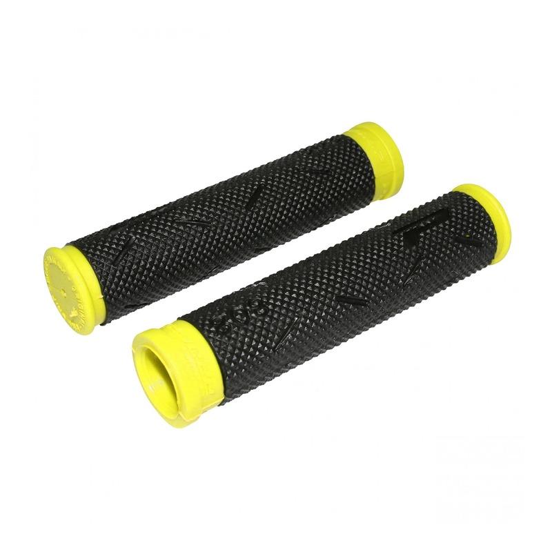 Revêtements de poignées vélo Progrip 808 noir/jaune
