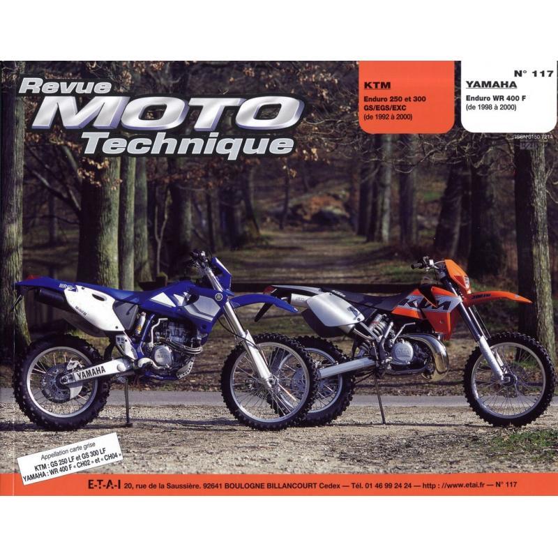 Revue Moto Technique 117.1 KTM 250-300 / Yamaha WR 400