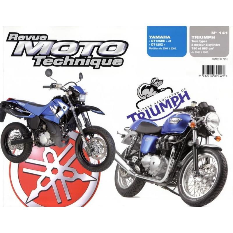 Revue Moto Technique 141.1 Yamaha DT125RE - X / Triumph 790-865