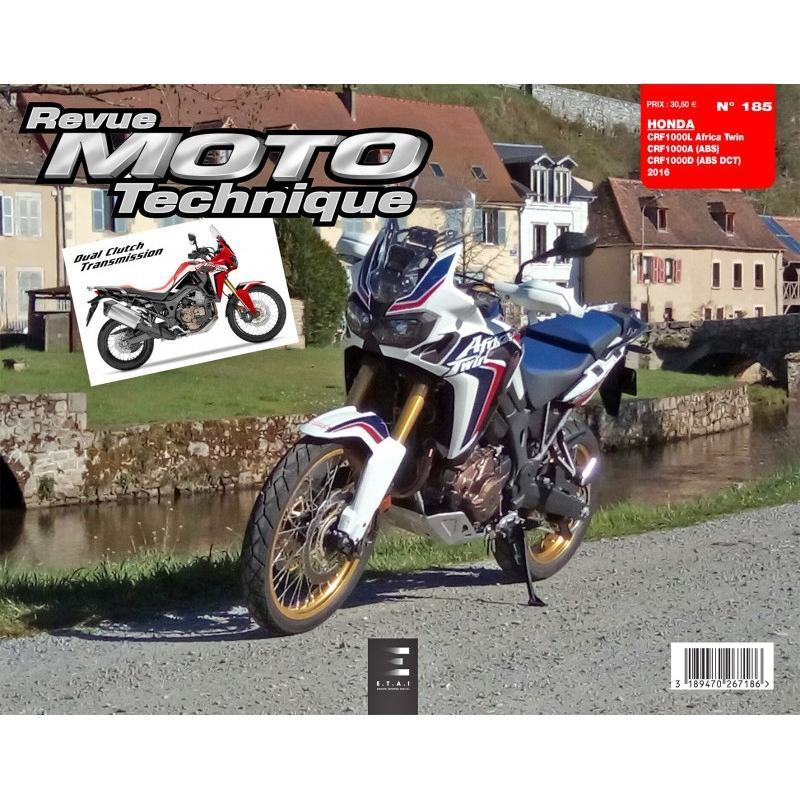 Revue Moto Technique 185 Honda CRF 1000 L Africa Twin