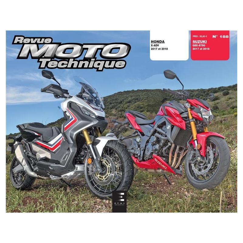 Revue Moto Technique 188 Honda X-ADV 750 / Suzuki GSX-S 750 17-18