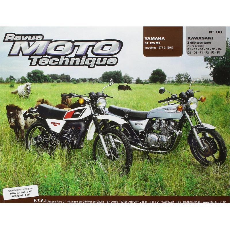 Revue Moto Technique 30.1 Yamaha DT125 MX 77-88 / Kawasaki Z 650 77-83
