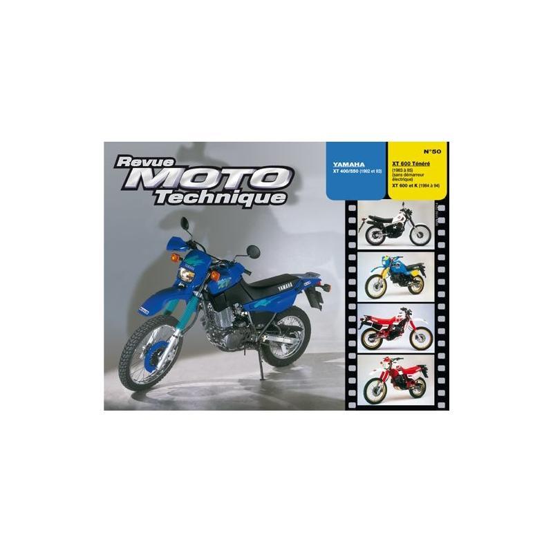 Revue Moto Technique 50.2 Yamaha XT 400S-550-XT600 TENERE