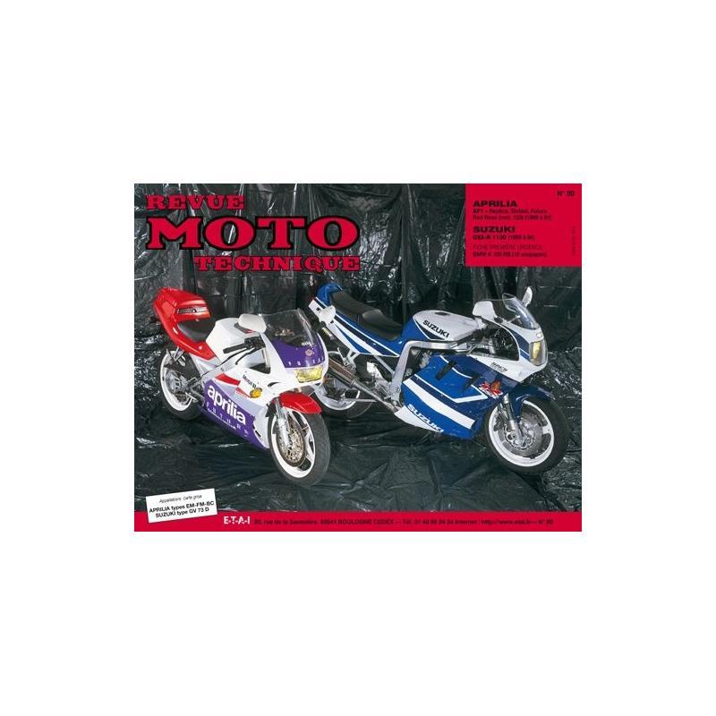 Revue Moto Technique 80.2 Aprilia 125 AF1 89-91 / Suzuki GSX-R 1100 1991