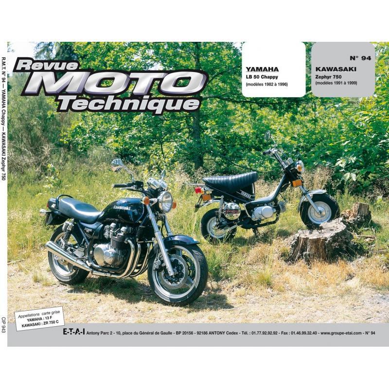 Revue Moto Technique 94.3 Yamaha Chappy LB50 / Kawasaki Zephyr 750