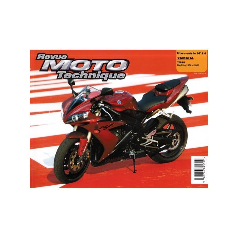 Revue Moto Technique HS14.1 Yamaha YZF R1 (injection) 04-05