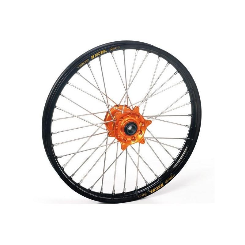 Roue arrière Haan Wheels/Excel 16x1,85 KTM 85 SX 04-17 noir/orange